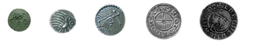 Anglo-Saxon coins where the first English pennies known by the name Sceattas