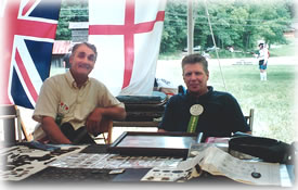 On these England metal detecting tours Roy helps you identify your treasure finds each day